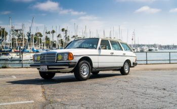 Mercedes W123 Wagon-White